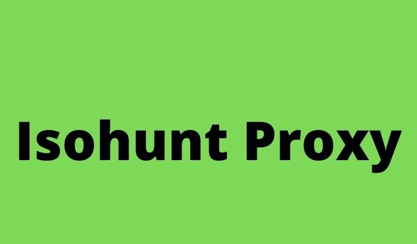 Isohunt Proxy
